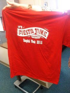 Hospital Week 2015 shirts