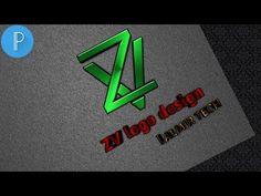 Pixellab logo design Tutorial | ZV logo design | pixellab | - YouTube Logo Design Tutorial, Graphic Design Tutorials, Photoshop Design, Photoshop Tutorial, Picsart Tutorial, Editing Background, Professional Logo Design, Logo Sticker, Logo Maker