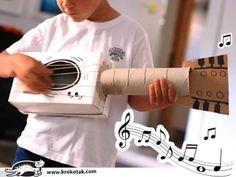 instrumentos musicales caseros Music For Kids, Diy For Kids, Diy Hamster Toys, Music Crafts, Plastic Bottle Crafts, Boy Birthday, Musicals, Homeschool, Activities