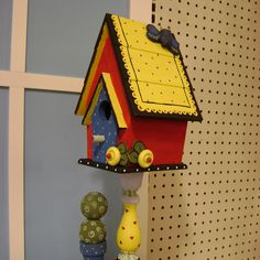 The same birdhouse, just a different view.