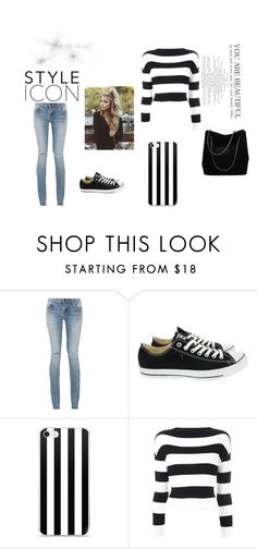 """🕸~Naomi's First Outfit~🕸"" by logibear1534 on Polyvore featuring Yves Saint Laurent, Converse, Boutique Moschino and Gucci"