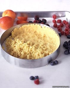 Apricot and Berry Tart Recipe