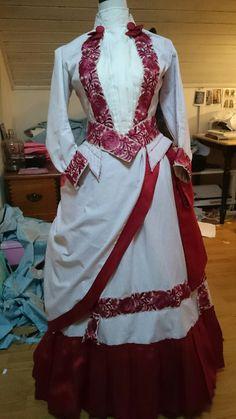 Summer dress 1885-87