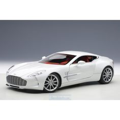 Aston Martin One-77 (morning frost white) 2009
