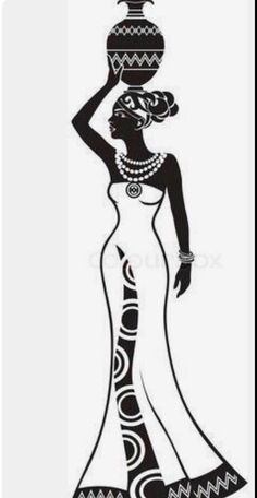 African Drawings, African Art Paintings, African Girl, African American Art, American Artists, Black Art Painting, Fabric Painting, Ligne Nail Art, Art Afro