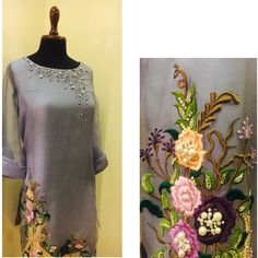 Colors & Crafts Boutique™ offers unique apparel and jewelry to women who value versatility, style and comfort. For inquiries: Call/Text/Whatsapp Pakistani Formal Dresses, Pakistani Outfits, Indian Dresses, Indian Outfits, Stylish Dresses, Simple Dresses, Asifa And Nabeel, Bridal Dresses, Girls Dresses