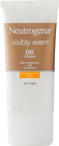Neutrogena Visibly Even BB Cream SPF 30 Fair To Light Ulta.com - Cosmetics, Fragrance, Salon and Beauty Gifts