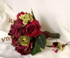 Fiori per il matrimonio: tante idee - Bouquet in rosso