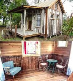 Tiny House from Reclaimed Materials