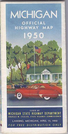 Michigan 1950 by RazorBoy2019, via Flickr