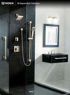 Our 90 Degree collection makes any bathroom dramatic and ultra-modern.