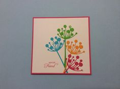 Chloe stem card for a special friend