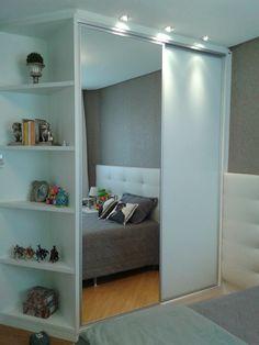 Wardrobe Room, Wardrobe Design Bedroom, Bedroom Closet Design, Girl Bedroom Designs, Home Room Design, Closet Designs, Teen Room Decor, Room Ideas Bedroom, Small Room Bedroom