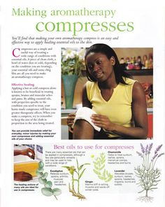 Mind, Body, Spirit Collection - Making Aromatherapy Compresses Holistic Medicine, Natural Medicine, Herbal Medicine, Holistic Remedies, Herbal Remedies, Healing Herbs, Natural Healing, Aromatherapy Oils, Mind Body Spirit