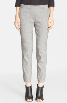Theory 'Thaniel' Linen Blend Pants available at #Nordstrom