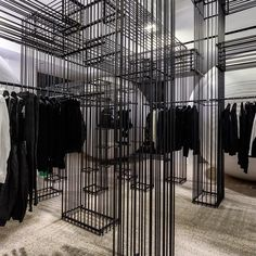 "DOVER STREET MARKET LONDON, UK, ""Cool Customer"",  by Black Comme des Garcons, pinned by Ton van der Veer"
