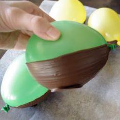 Chocolate Easter Egg Bowl Tutorial