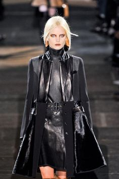 Fall 2012 runways for the neo Gothic fashion trend.