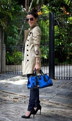 awesome Look: Camila Coutinho - Trench Coat | Moda it