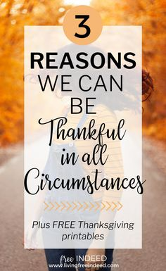 Why We Can Thank Jesus In All Circumstances