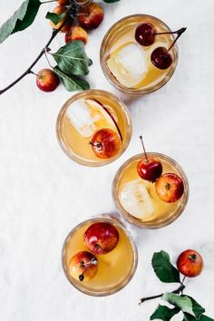 Ginger apple spritze