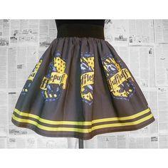 Hufflepuff, Harry Potter Dress, Skirt, Hufflepuff House, Harry Potter,... ($68) ❤ liked on Polyvore