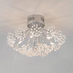 Buy John Lewis Blossom Ceiling Light, 6 Arm Online at johnlewis.com
