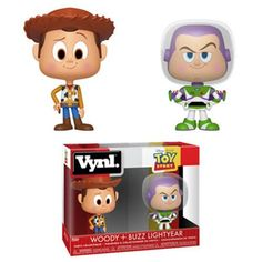 Toy Story Woody and Buzz VYNL Figure 2-Pack  funko  funkopop  disney 930e5b838fa