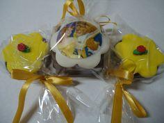 Pão de Mel e Pirulito de Chocolate A Bela e a Fera - Lembrancinhas - Party Favors - Wedding Favors - www.docemeldoces.com