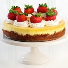Love the way this cheesecake is decorated