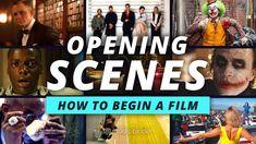 Art of the Opening Scene — How to Start a Movie 6 Different Ways, From Nolan to Baumbach - YouTube Cold Open, Film Studio, Screenwriting, Films, Movies, Storytelling, Acting, The Creator, Scene