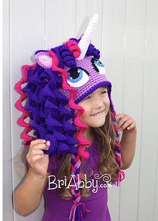 Crochet Unicorn / Pony Hat By BriAbby
