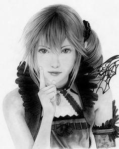 Lumina Final Fantasy XIII Lightning Returns, Anadia Jene on ArtStation at https://www.artstation.com/artwork/K1Vnr