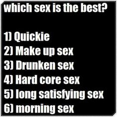 Morning Sex Long Satisfying Sex Whats Yours