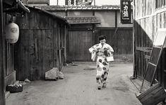 山本悍右 Kyoto Story 1955. Kansuke Yamamoto, ©Toshio Yamamoto.