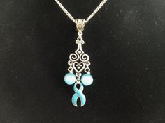 Hey, I found this really awesome Etsy listing at https://www.etsy.com/listing/201295004/teal-ribbon-ovarian-cervical-cancer