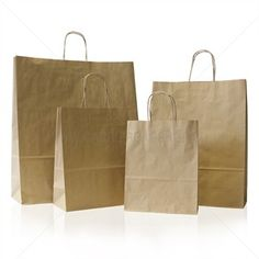 1 Brown Paper Carrier Bags Small x + Premium Italian with Twisted Handles Ideal for Wedding Birthday Party Shoppers Gift Bags -- Awesome products selected by Anna Churchill Paper Carrier Bags, Paper Bags, Alternative To Plastic Bags, Print Box, Gsm Paper, Brown Paper, Custom Boxes, T Shirts With Sayings, Wrapping