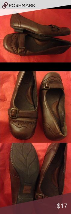 Born shoes Brown born shoe, size 10, arch support, rubber sole. Super comfortable Born Shoes Flats & Loafers