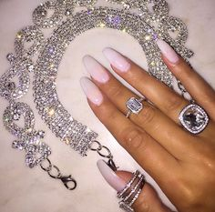 Jewelry discovered by Miss Glamour on We Heart It Bling Bling, Bad And Boujee, Glamour, Fancy, Diamond Are A Girls Best Friend, Cute Nails, Body Jewelry, Girly Things, Ideias Fashion
