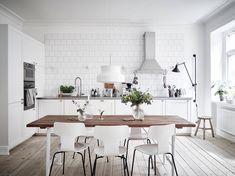 Resultado de imagem para cozinhas estilo nordico