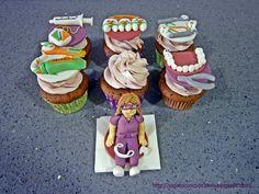 Cupcakes dentista / dentist cupcakes