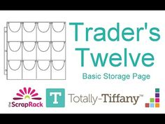 be8bec3e5fa5 The Trader s Twelve page is part of the ScrapRack system. This storage page  has 12
