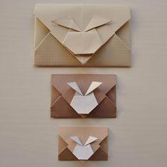 hase origami brief umschlag design anleitung einfach deko idee