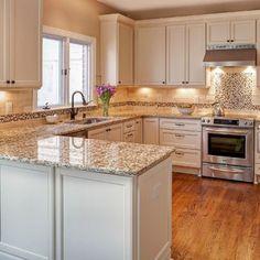 31 Luxury White Kitchen Cabinets Design Ideas