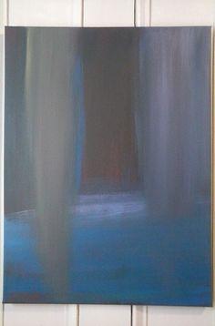 "'Visitation' - 2015 - 18""x24"" - Acrylic on stretch canvas"