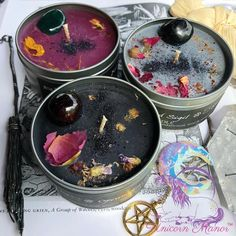 Making candles is a great hobby or business endeavor. For those who have the basics down cold, consider experimenting with the art of making hand dipped candles. Candle Spells, Candle Magic, Candle Jars, Candle Labels, Magick Spells, Wiccan, Candle Holders, Homemade Candles, Diy Candles