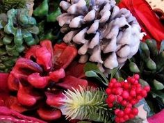Cinnamon scented, Wax covered pinecones-Make great firestarters or just decor