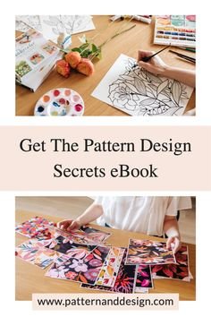 Getting started as a surface pattern designer doesn't have to be hard. If you're wanting to learn the secrets to getting started then this eBook will hold your hand and guide you through the process. You will learn: 🌟The design essential process you need to follow to create successful pattern designs 🌟The ins and outs of pattern repeats and collections 🌟How to stand out as a designer Kids Patterns, Floral Patterns, Pattern Designs, Surface Pattern Design, Inspiration For Kids, Design Inspiration, Textile Design, Fabric Design, Creative Class