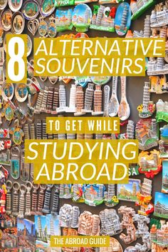 Unique, Alternative Souvenirs to Get While Studying Abroad - bring home unique souvenirs from your study abroad trip with these alternative souvenir ideas.