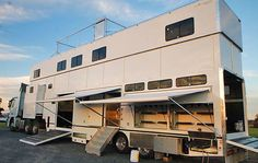 Image result for who makes 2 story semi trailers?